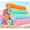 竹纤维抹布去油洗碗布加厚洗碗巾吸水不沾油不掉毛百洁布
